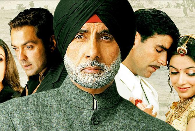 Amitabh Bachchan in Ab Tumhare Hawale Watan Saathiyo