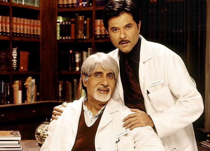 Amitabh Bachchan and Anil Kapoor in Armaan