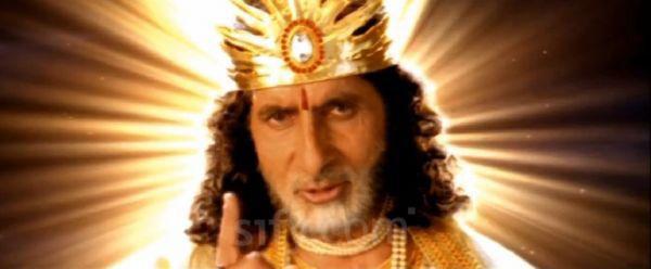 Amitabh Bachchan in Agni Varsha