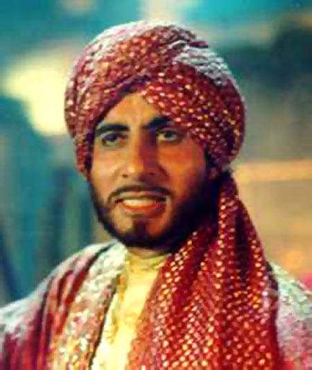 Amitabh Bachchan in Khuda Gawah