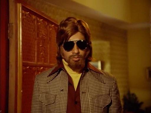 Amitabh Bachchan in Parvarish