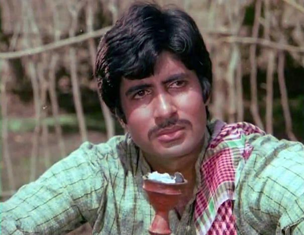 Amitabh Bachchan in Saudagar