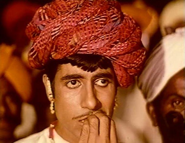 Amitabh Bachchan in Reshma Aur Shera