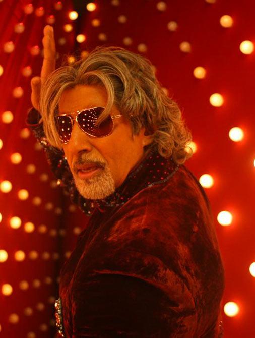 Amitabh Bachchan in Aladin