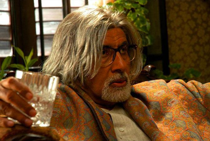 Amitabh Bachchan in The Last Lear