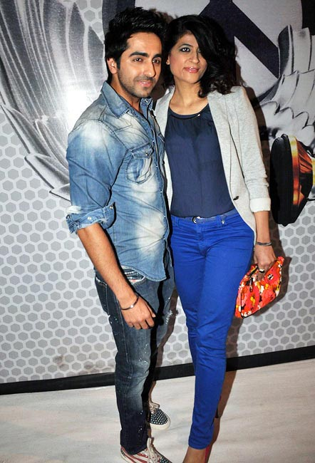 Tahira Kashyap and Ayushmann Khurrana
