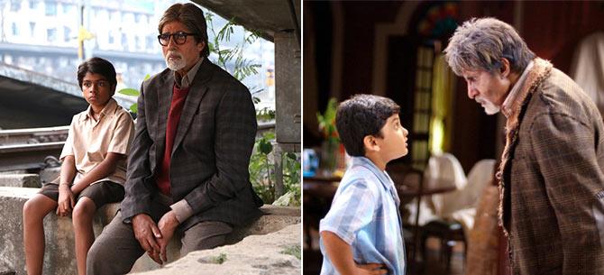 Amitabh Bachchan in Bhootnath Returns/Bhootnath