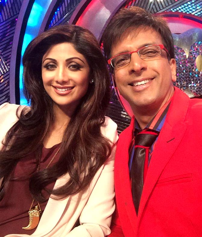 Shilpa Shetty and Jaaved Jaaferi