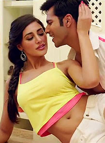 Nargis Fakhri and Varun Dhawan in Main Tera Hero