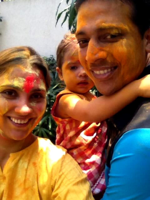 Lara's Holi in Bangalore