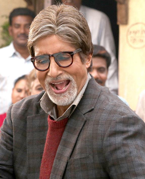 Amitabh Bachchan in Bhoothnath 2