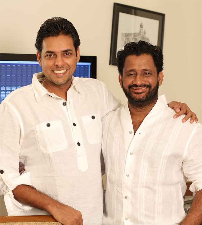 Renjith Viswanath and Resul Pookutty