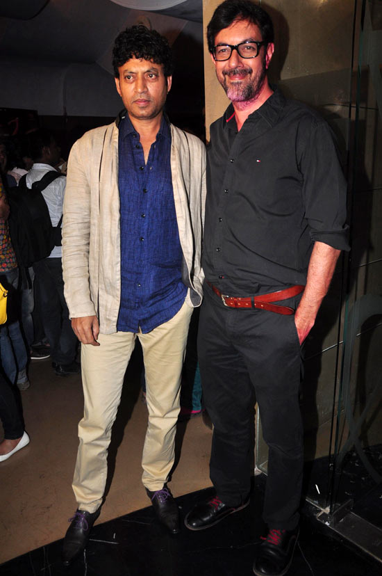 Irrfan Khan and Rajat Kapoor