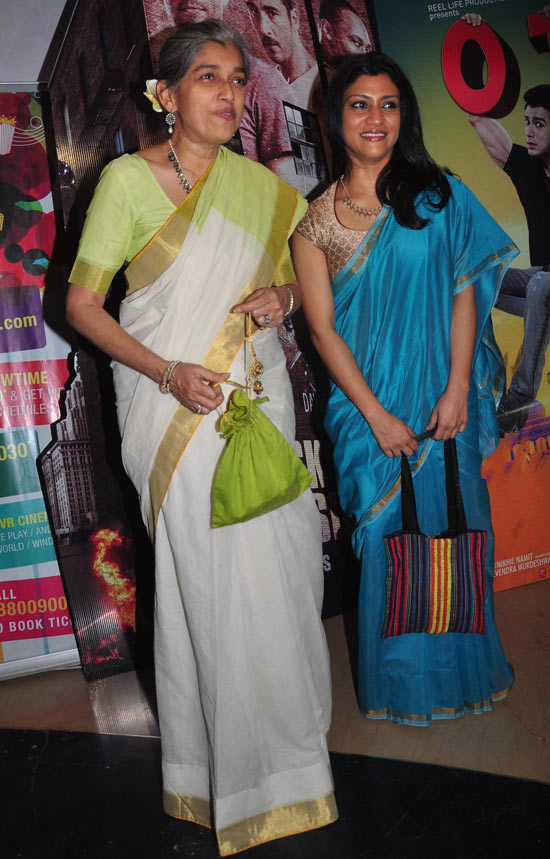 Ratan Pathak Shah and Konkona Sen Sharma