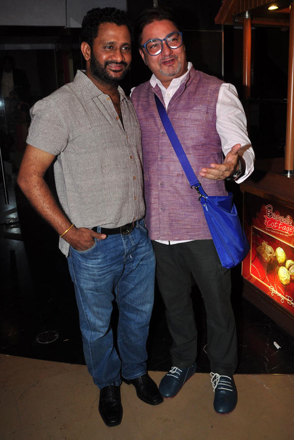 Resul Pookutty and Vinay Pathak