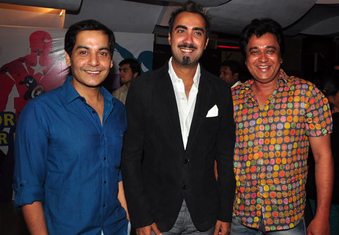 Gaurav Gera, Ranvir Shorey and Manu Rishi