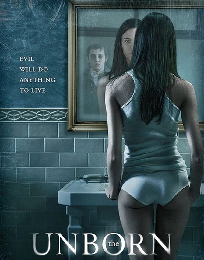 Movie poster of The Unborn