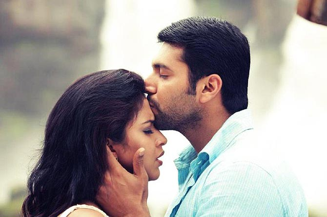 Film still from Nimirndhu Nil