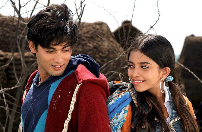 Ruslaan Mumtaz and Sheena Shahabadi in Teree Sang