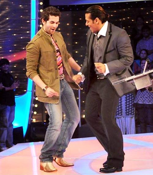 Neil Nitin Mukesh and Salman Khan on Dus Ka Dum