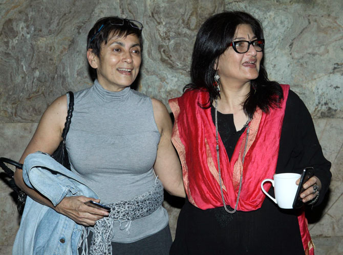Deepa Mehta and Sarika