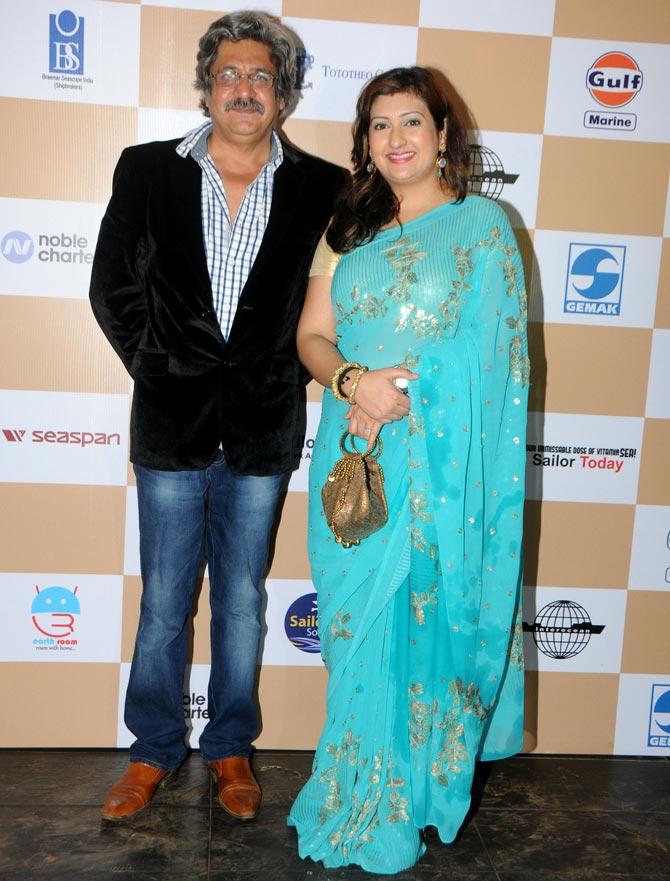 Juhi Parmar and Capt. Sunil Nangia