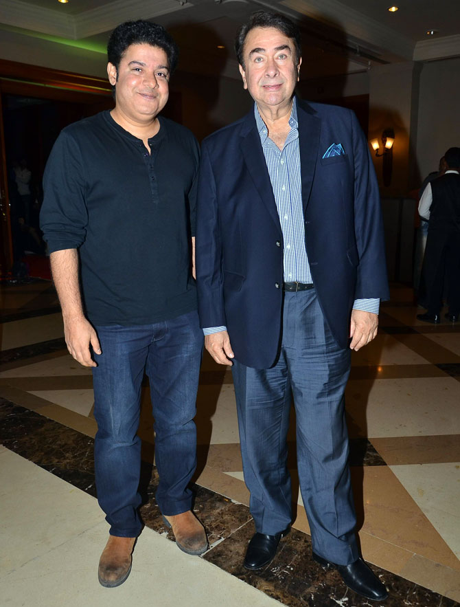 Sajid Khan and Randhir Kapoor