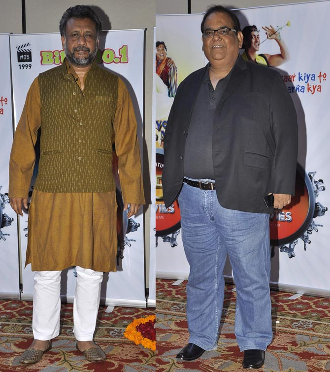 Anubhav Sinha and Satish Kaushik