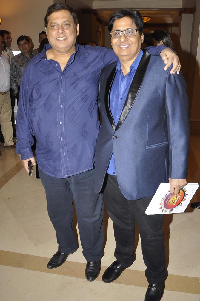 David Dhawan and Vashu Bhaganani