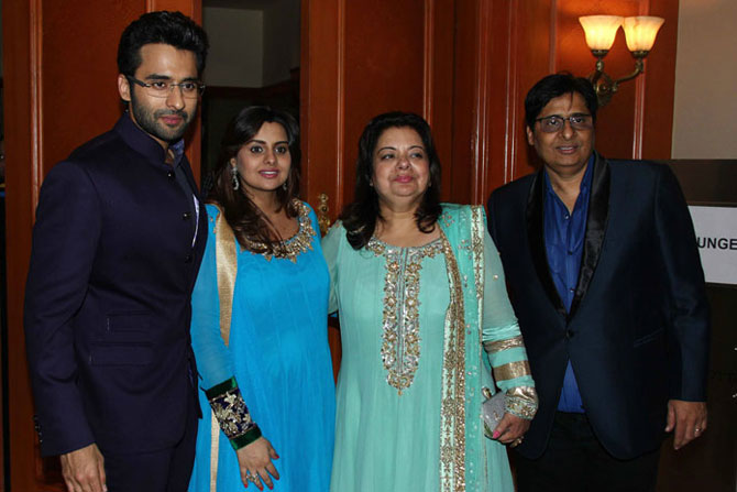 Jaccky, Honey, Puja and Vashu Bhagnani