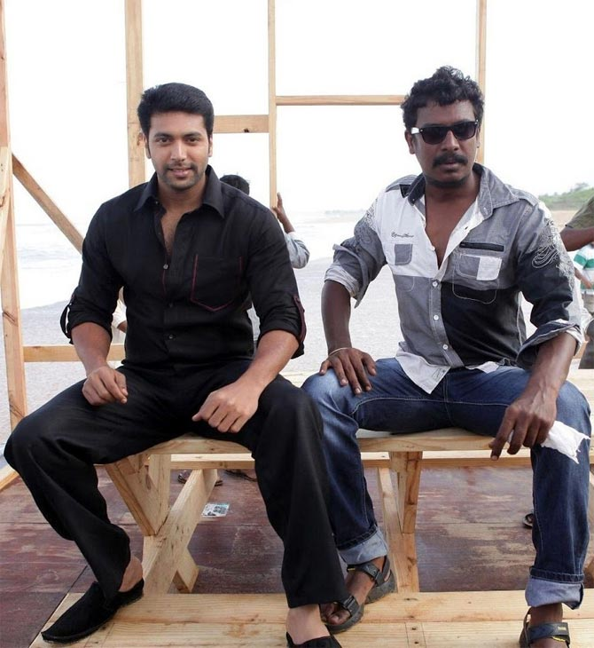 Jayam Ravi and Samuthirakani