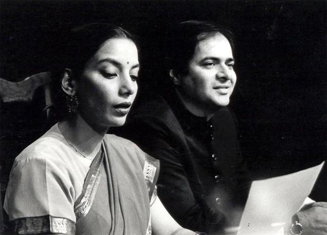 Shabana Azmi and Farooque Sheikh