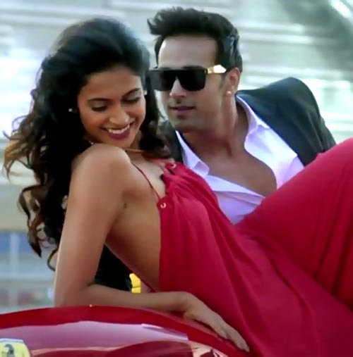 Sarah Jane Dias and Pulkit Samrat in O Teri. Inset: Atul Agnihotri
