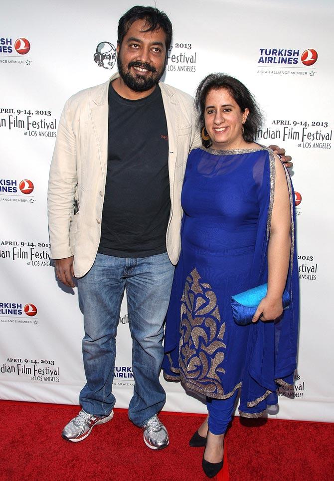 Anurag Kashyap and Guneet Monga