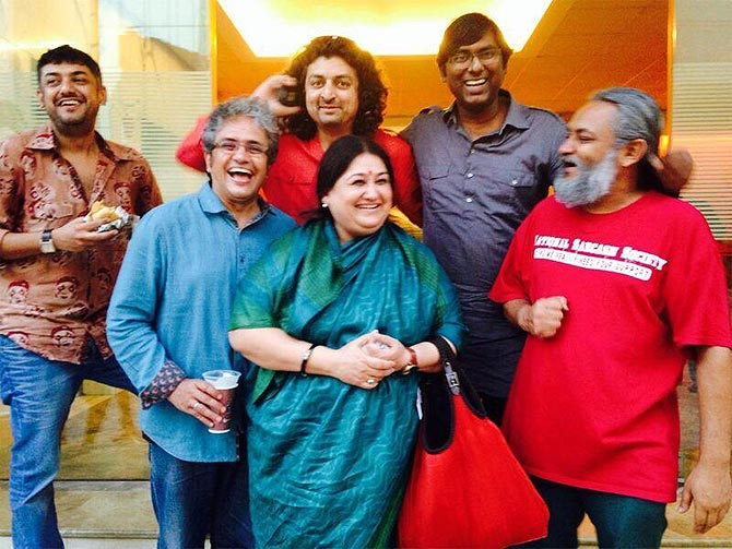 Shubha Mudgal with Indian Ocean