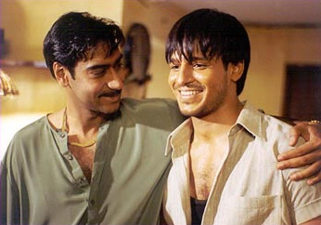 Ajay Devgn and Vivek Obeori in Company
