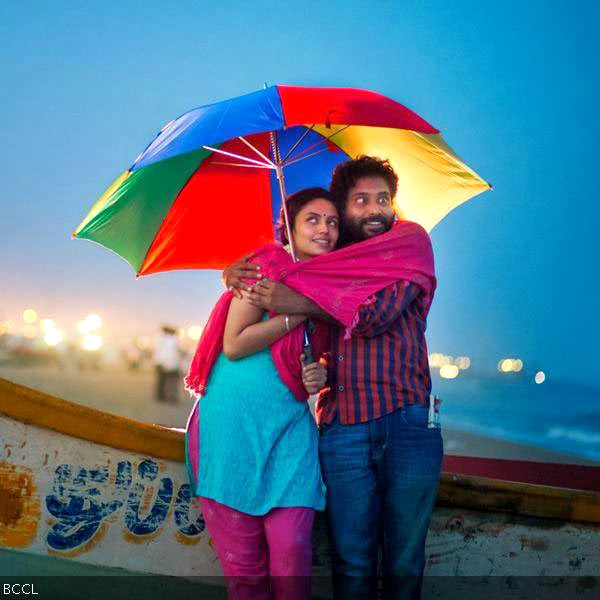 Malavika Nair and Attakathi Dinesh in Cuckoo