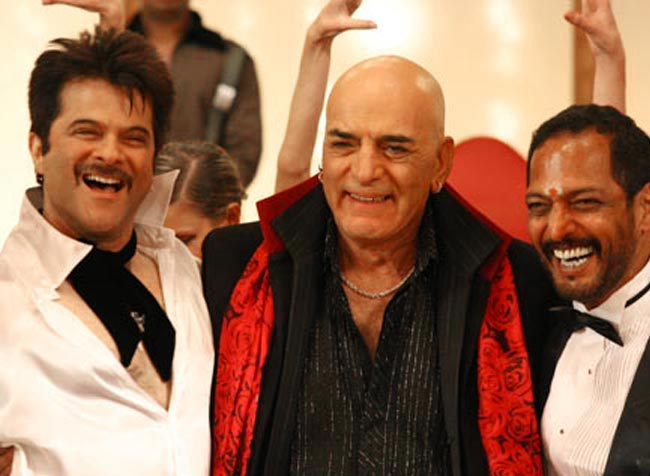 Anil Kapoor, Feroz Khan and Nana Patekar in Welcome