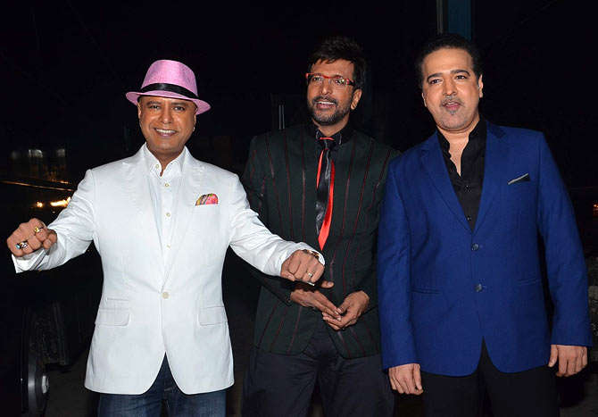 Boogie Woogie judges Naved Jaffery, Jaaved Jafferi and Ravi Behl