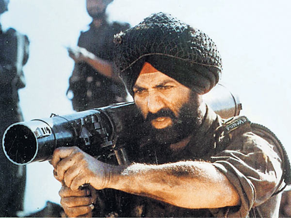 Sunny Deol in Border