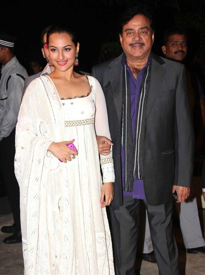 Sonakshi and Shatughan Sinha