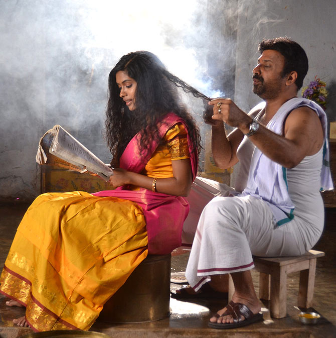 Anjali Patil and Siddique in Naa Bangaru Talli