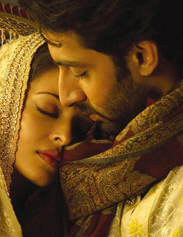 Abhishek and Aishwarya Rai Bachchan in Umrao Jaan
