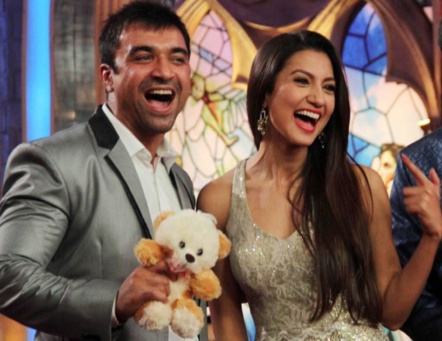 Ajaz Khan and Gauahar Khan on Kahtron Ke Khiladi