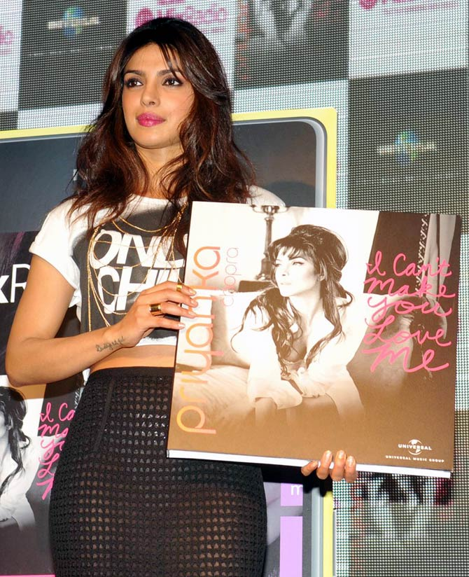 Priyanka Chopra at the launch