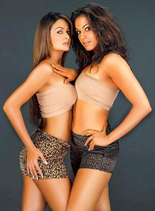 Amrita Arora and Eesha Koppikar in Girlfriend