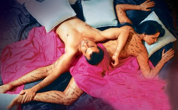 Sanjay Kapoor and Neha Dhupia in Julie