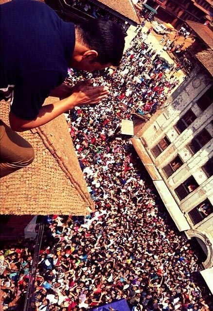 Akshay Kumar greets his fans in Nepal
