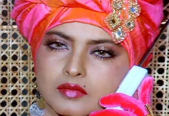 Rekha in Madam X