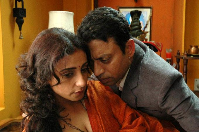 Irrfan Khan and Divya Dutta in Hisss